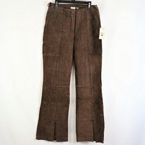 NWT WILSONS LEATHER MAXIMA SUEDE PANTS SIZE 2